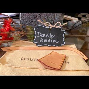 Authentic Louis Vuitton LV Clochette Key Bell
